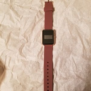 Dark Mauve Digital Watch